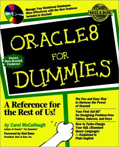 9780764502392: Oracle 8 for Dummies
