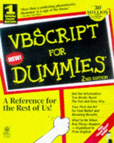 9780764502590: Vbscript for Dummies
