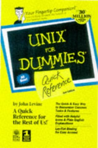 9780764503016: Unix for Dummies Quick Reference