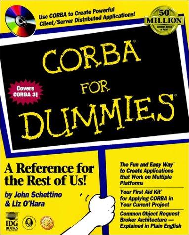 Beispielbild für CORBA For Dummies zum Verkauf von Bayside Books