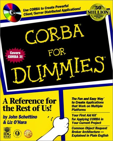 9780764503085: CORBA For Dummies