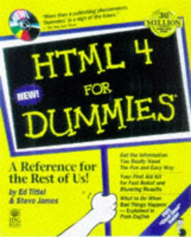 9780764503313: Html 4 for Dummies