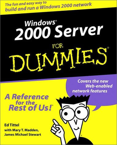 9780764503412: Windows 2000 Server For Dummies