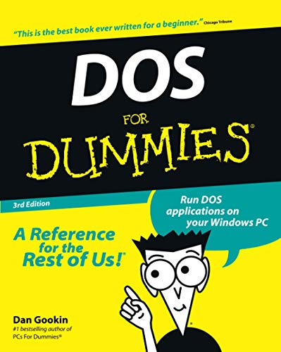 9780764503610: DOS For Dummies