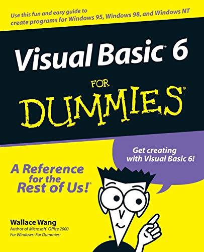 9780764503702: Visual Basic 6 for Dummies