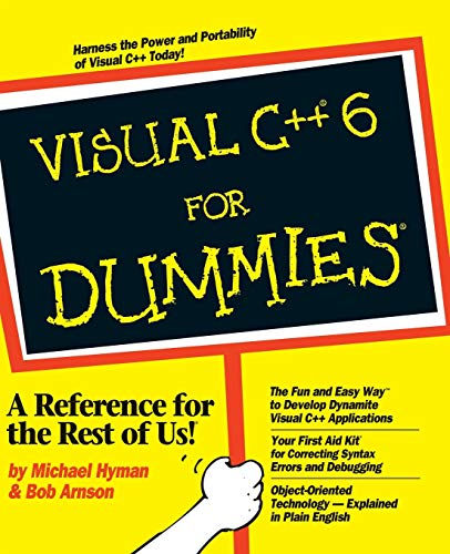 9780764503726: Visual C++ 6 For Dummies