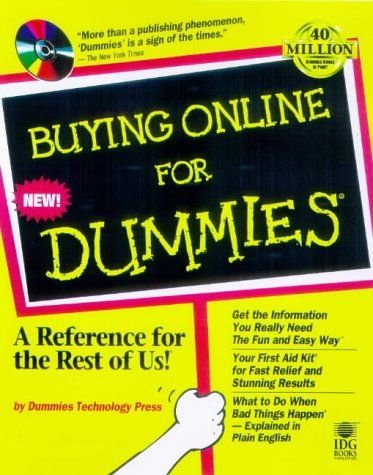 9780764503795: Buying Online for Dummies with CDROM (For Dummies (Lifestyles Paperback))