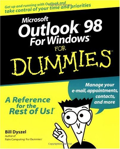 9780764503931: Microsoft Outlook 98 For Windows For Dummies