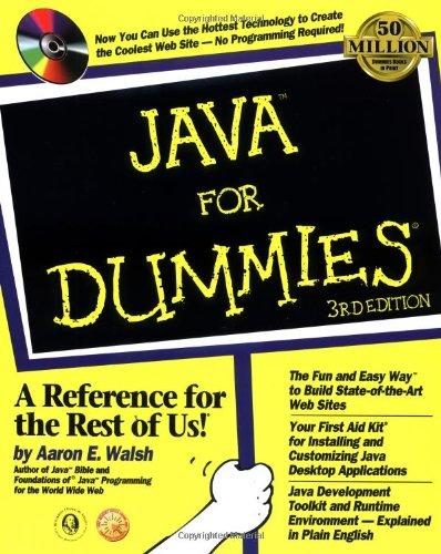 9780764504174: Java for Dummies