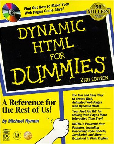 9780764504679: Dynamic HTML For Dummies