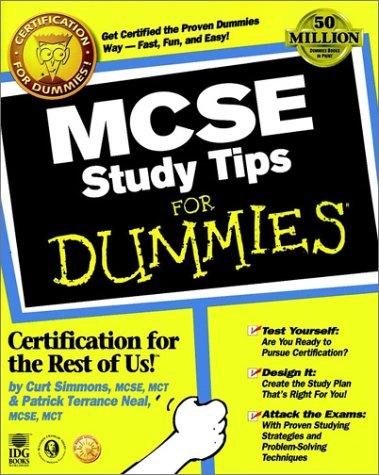 9780764504846: MCSE Study Tips For Dummies?