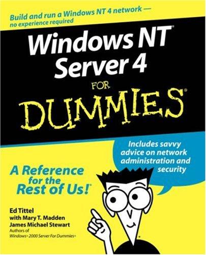9780764505249: Windows NT Server 4 For Dummies