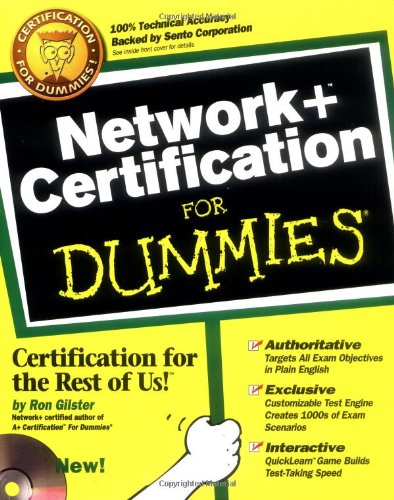 9780764505454: Network + Certification For Dummies?
