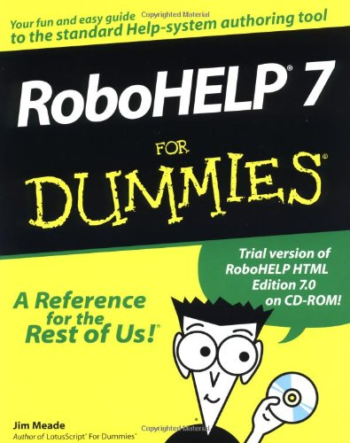 9780764505607: RoboHELP 7 For Dummies
