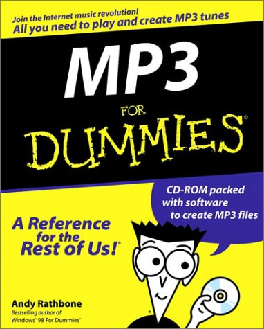 MP3 For Dummies: Rathbone, Andy