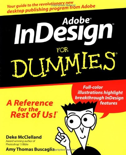 9780764505997: Adobe Indesign for Dummies