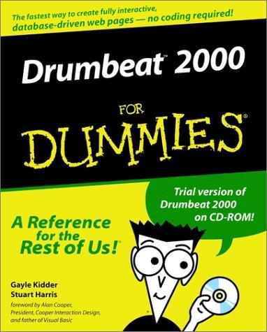 9780764506246: Drumbeat 2000 For Dummies?