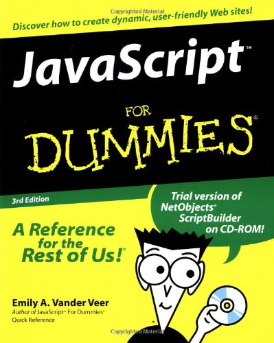 9780764506338: JavaScript For Dummies (For Dummies (Computers))
