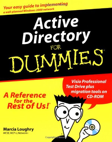 9780764506598: Active Directory for Dummies