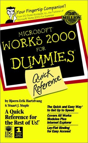 9780764506642: Microsoft Works 2000 For Dummies: Quick Reference (For Dummies: Quick Reference (Computers))