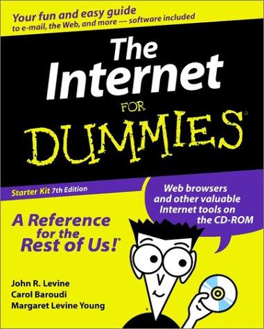 9780764507007: The Internet For Dummies: Starter Kit
