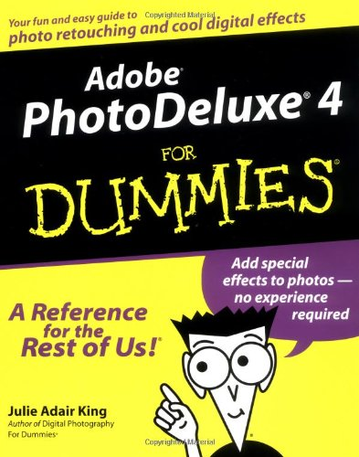 9780764507083: Adobe Photodeluxe 4 For Dummies