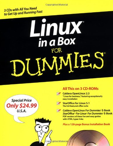 9780764507144: Linux in a Box For Dummies