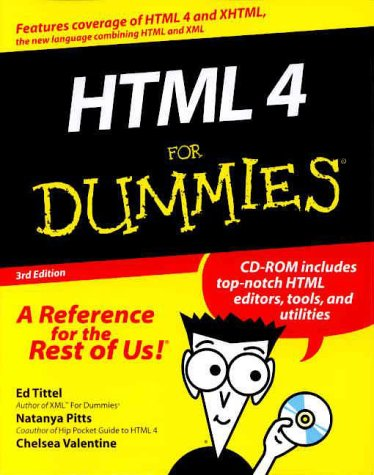 9780764507236: HTML 4 For Dummies? (For Dummies (Computers))