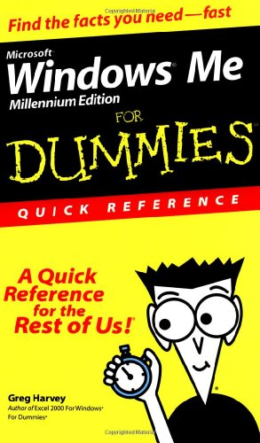 9780764507304: Microsoft Windows Me For Dummies: Quick Reference