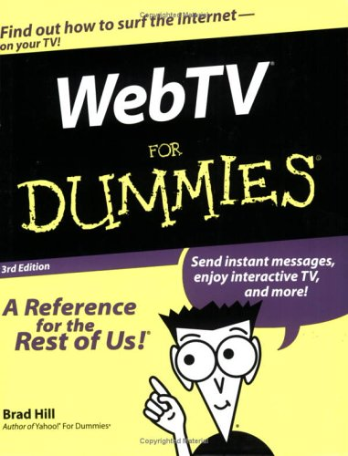 9780764507427: WebTV For Dummies