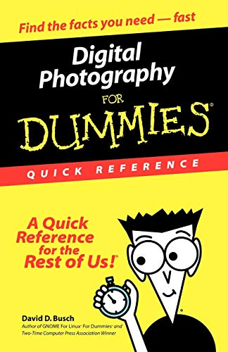 9780764507502: Digital Photography for Dummies: Quick Reference