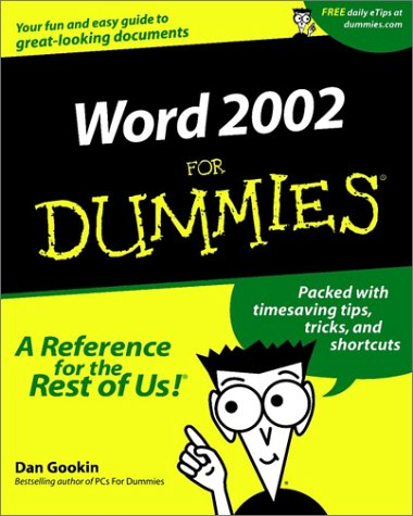 9780764508394: Word 2002 For Dummies