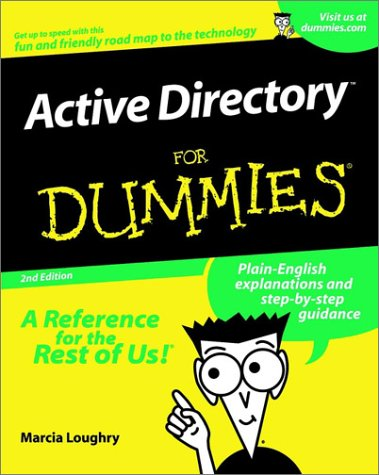 9780764508653: Active Directory X for Dummies