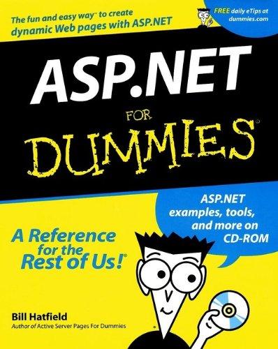 9780764508660: Asp.Net for Dummies