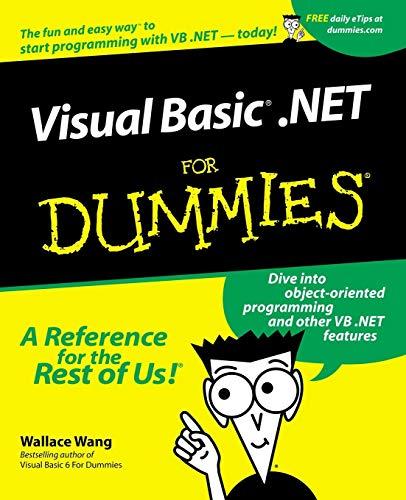 9780764508677: Visual Basic.Net for Dummies