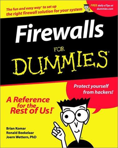 9780764508844: Firewalls for Dummies
