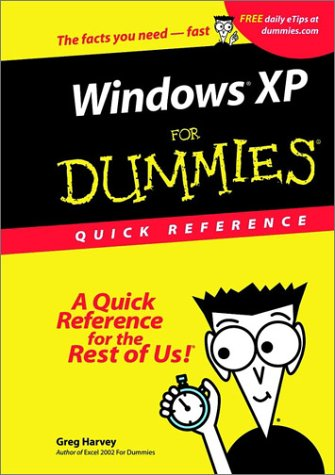 9780764508974: Windows XP for Dummies Quick Reference