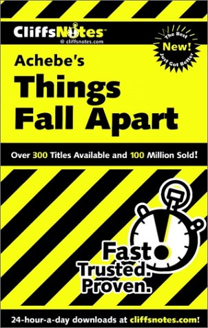 9780764513329: Cliffsnotes Achebes Things Fall Apart