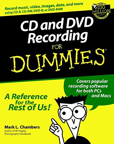 9780764516276: CD and DVD Recording For Dummies (For Dummies (Computer/Tech))