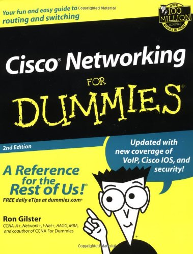 9780764516689: Cisco Networking for Dummies