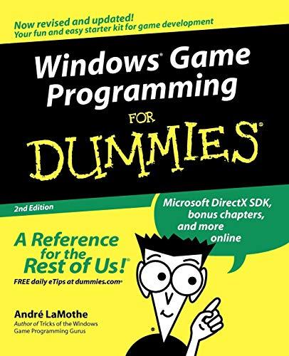 9780764516788: Windows Game Programming For Dummies