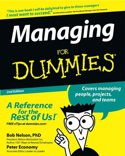 9780764517716: Managing For Dummies