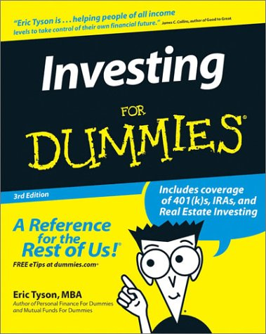 9780764524318: Investing For Dummies