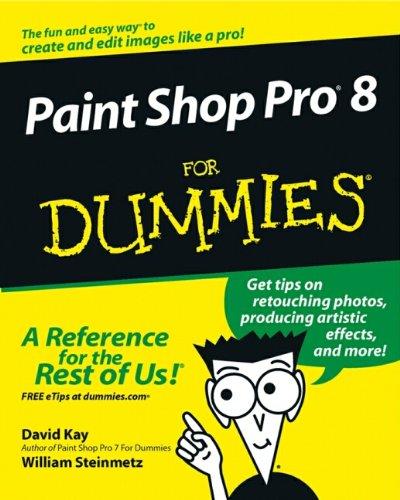 9780764524400: Paintshop Pro 8 for Dummies