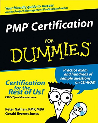 9780764524516: PMP Certification For Dummies