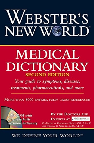 9780764524615: Webster's New World Medical Dictionary