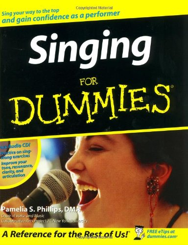 9780764524752: Singing for Dummies