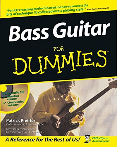 Bass Guitar for Dummies (CD included)