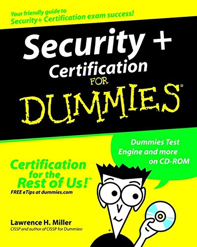 9780764525766: Security+ Certification For Dummies