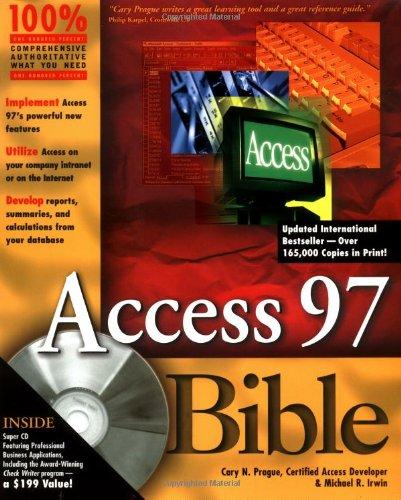 9780764530357: Access 97 Bible